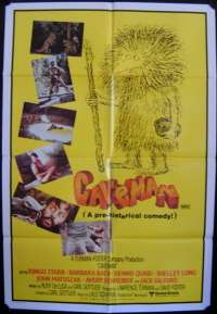 Caveman 1981 movie poster Ringo Starr Beatles One Sheet