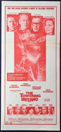 Towering Inferno, The - Disaster Films Daybill Movie poster