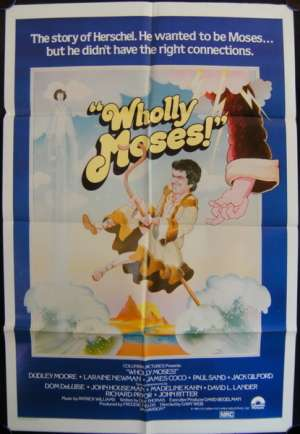 Wholly Moses One Sheet Australian Movie poster