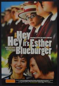 Hey Hey It's Ester Blueburger Movie Poster Rolled Original One Sheet Toni Collette