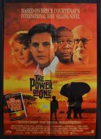 The Power Of One 1992 One Sheet movie poster Stephen Dorff Daniel Craig Morgan Freeman