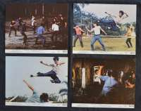 Fist Of Fury Lobby Cards Mini USA Original 1973 Bruce Lee Martial Arts