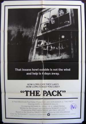 Pack, The One Sheet Australian Movie poster