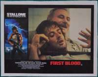 First Blood Lobby Poster Original 11x14 No.5 Sylvester Stallone Rambo