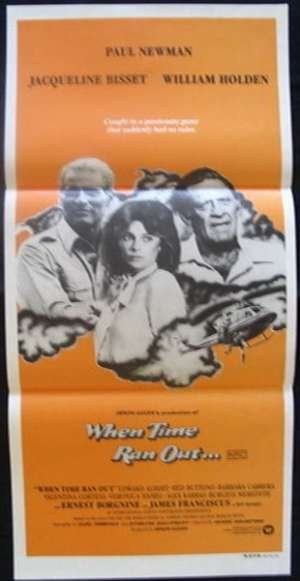When Time Ran Out Poster Original Daybill 1980 Paul Newman Irwin Allen