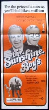 Sunshine Boys, The - Woody Allen Daybill movie poster