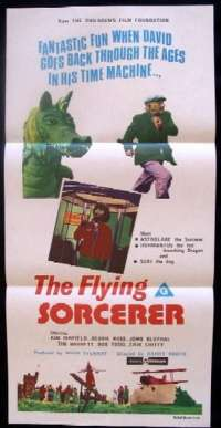Flying Sorcerer, The Daybill Movie poster