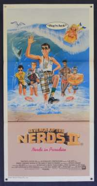 Revenge Of The Nerds II Nerds In Paradise Poster Daybill Robert Carradine