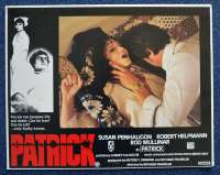 Patrick 1978 Lobby Card No.2 Rare Ozploitation Robert Helpmann