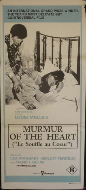 Murmur Of The Heart Daybill Movie poster