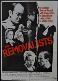 The Removalists Movie Poster Original One Sheet 1975 Jacki Weaver David Williamson