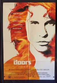 The Doors Poster Original One Sheet 1991 Val Kilmer Oliver Stone