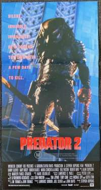 Predator 2 Danny Glover Daybill Movie Poster Alien