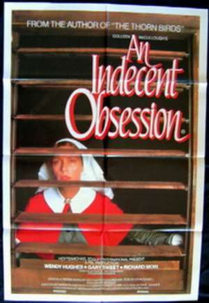 Indecent Obsession Wendy Hughes Gary Sweet One Sheet movie poster