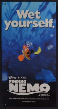 Finding Nemo 2003 Daybill movie poster Rolled Disney Dory