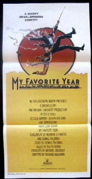 My Favorite Year Daybill Movie poster