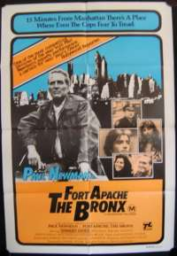 Fort Apache The Bronx Poster Paul Newman One sheet