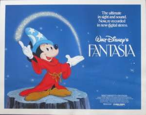 Fantasia - Disney Lobby Card No 1