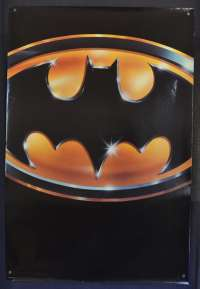 Batman 1989 Michael Keaton Rolled USA Advance art RARE no date movie poster