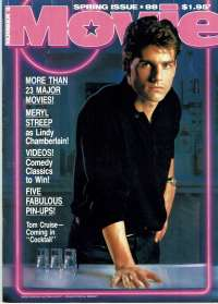 Cocktail Movie Magazine 1988 Number 4 Tom Cruise