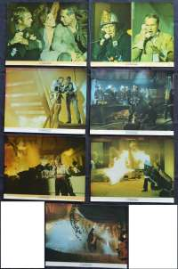 "The Towering Inferno Lobby Cards x 7 Original USA 11"" x 14"" 1974 Steve McQueen"