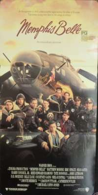 Memphis Belle 1990 Daybill movie poster Matthew Modine B-17 Flying Fortress