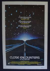 Close Encounters Of The Third Kind 1977 One Sheet movie poster Richard Dreyfuss