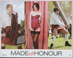 Made Of Honour 2008 Lobby Card Patrick Dempsey Michelle Monaghan