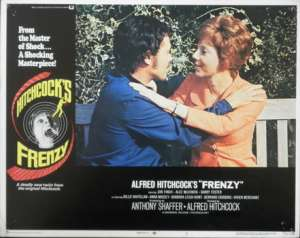 Frenzy Lobby Card 11x14 USA No 2 Original 1972 Hitchcock Jon Finch Alec McCowen