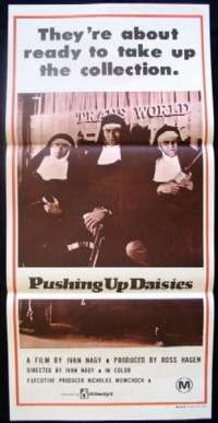 Pushing Up Daisies Daybill Movie poster