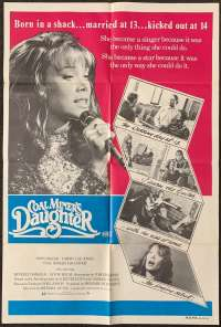 Coal Miner's Daughter One Sheet Australian Movie poster