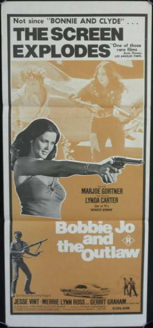 Bobbie Jo And The Outlaw Daybill Movie Poster