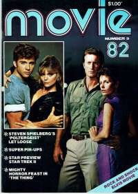 Far East Movie Magazine 1982 Number 3 Bryan Brown Helen Morse