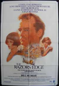 The Razor's Edge 1984 Bill Murray Tom Jung Artwork One sheet movie poster