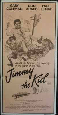 Jimmy The Kid 1982 Daybill Movie poster Garyl Coleman Don Adams