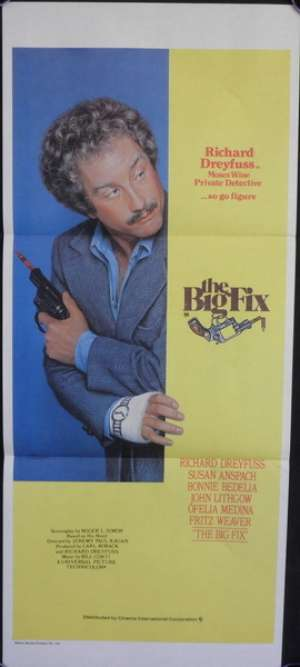 Big Fix, The Daybill Movie poster