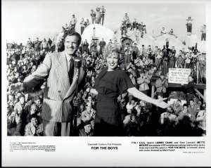 For The Boys Movie Still Original 1991 Bette Midler James Caan George Segal
