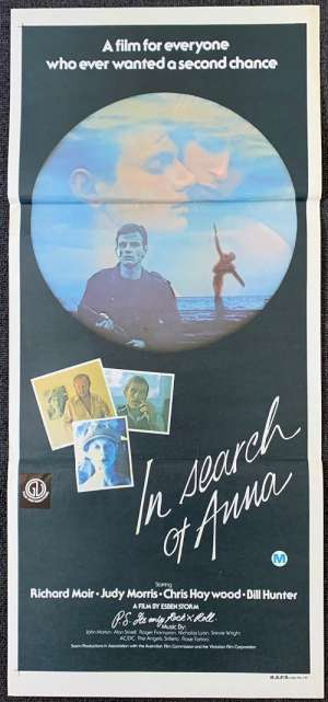 In Search Of Anna 1978 movie poster Richard Moir Daybill