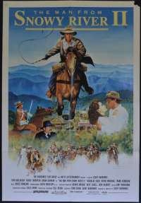 The Man From Snowy River II 1988 One Sheet movie poster Tom Burlinson Sigrid Thornton