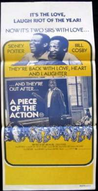 Piece Of The Action, A Daybill Movie poster
