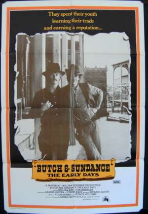 Butch and Sundance The Early Days One Sheet movie poster Tom Berenger
