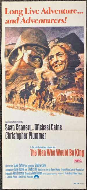 The Man Who Would Be King Poster Original Daybill 1975 Michael Caine