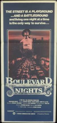 Boulevard Nights Movie Poster Original Daybill Different Art