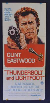 Thunderbolt And Lightfoot Poster Clint Eastwood Jeff Bridges Daybill