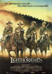 The Lighthorsemen Cinema Flyer Original 1987 Jon Blake Peter Phelps ANZACS