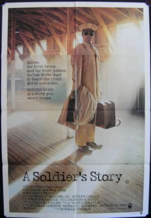Soldier's Story, A One Sheet Australian Movie poster
