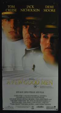 A Few Good Men Daybill Movie Poster Tom Cruise Jack Nicholson Demi Moore