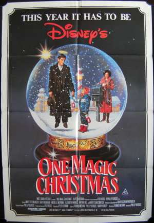 One Magic Christmas One Sheet Australian movie poster