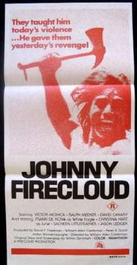 Johnny Firecloud Daybill Movie poster