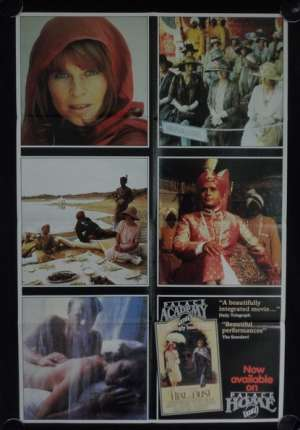 Heat And Dust Poster Original Photosheet 1983 Greta Scacchi Julie Christie